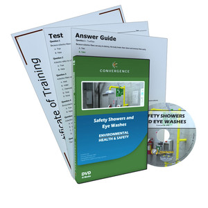 C-394 Safety Showers and Eye Washesa Health & Safety (EHS) General Safety DVD course by Health & Safety (EHS)