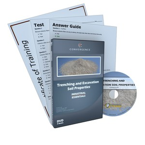 C-410 Trenching and Excavation Soil Propertiesa Health & Safety (EHS) General Safety DVD course by Health & Safety (EHS)
