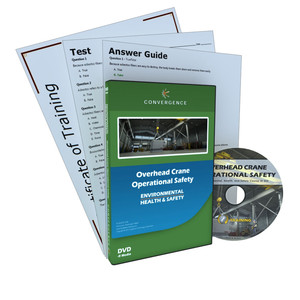 C-423 Overhead Crane Operational Safetya Health & Safety (EHS) Cranes and Riggin DVD course by Health & Safety (EHS)
