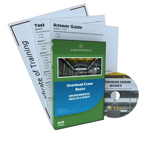 C-432 Overhead Crane Basicsa Health & Safety (EHS) Cranes and Riggin DVD course by Health & Safety (EHS)