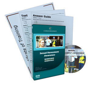 C-433 Sexual Harassment Awarenessa HR Compliance & Soft Skills HR Compliance DVD course by HR Compliance & Soft Skills