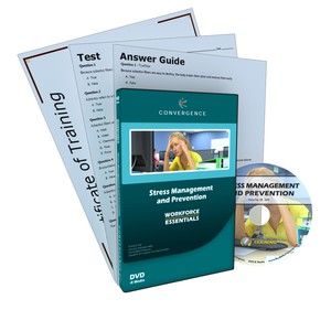 C-450 Stress Management and Preventiona HR Compliance & Soft Skills HR Compliance DVD course by HR Compliance & Soft Skills