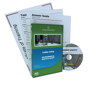 C-806 Ladder Safetya Health & Safety (EHS) Working at Heights DVD course by Health & Safety (EHS)