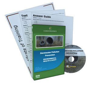 C-845 Stormwater Pollution Preventiona Health & Safety (EHS) Environmental DVD course by Health & Safety (EHS)