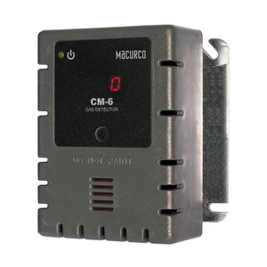 Macurco CM-6 WHITE Carbon Monoxide CO (Low Voltage) Fixed Gas Detector Controller Transducer w/ White Housing 70-2900-0035-6