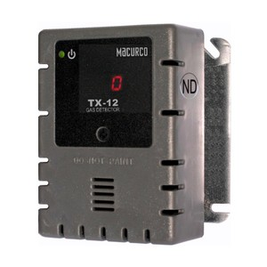 Macurco TX-12-ND WHITE Nitrogen Dioxide NO2 (Line Voltage) Fixed Gas Detector Controller Transducer w/ White Housing 70-2900-0040-1