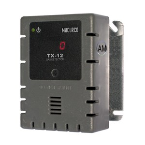 Macurco TX-12-AM WHITE Ammonia NH3 (Line Voltage) Fixed Gas Detector Controller Transducer w/ White Housing 70-2900-0041-3