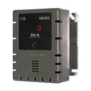 Macurco RD-6 WHITE Refrigerant REF (Low Voltage) Fixed Gas Detector Controller Transducer w/ White Housing 70-2900-0046-7