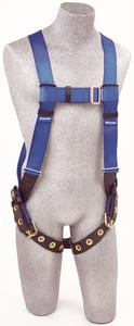DBI-SALA AB17550 Protecta FIRST Vest-Style Harness with Back D-ring and Leg Straps (Size Universal)