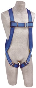 DBI-SALA AB17510-XL Protecta FIRST 3 Point Vest-Style Harness, Back D-ring, Pass Thru Buckle Leg Straps (Size XL)