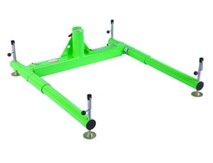 DBI-SALA 8518005 Advanced 3-Piece Portable Davit Base for 27-1/2 in. Maximum Offset Davit Mast