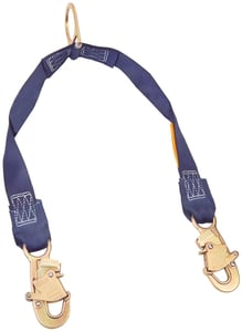 DBI-SALA 1231470 2ft Rescue/Retrieval Y-Lanyard with D-ring and Snap Hooks