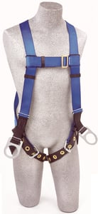 DBI-SALA AB17560 Protecta FIRST Vest-Style Positioning Harness with D-rings and Leg Straps (Size Universal)