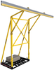 DBI-SALA 8517763 FlexiGuard Counterweighted System with 22 ft. Anchor Height and 42 ft. Rail, Concrete Weights Included