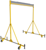DBI-SALA 8517792 FlexiGuard A-Frame Fixed Height Rail System - 15 ft. Height and 30 ft. Width