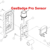 Industrial Scientific GasBadge Pro Replacement Sensors