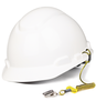 DBI-SALA 1500061 Hard Hat Coil Tether, 2 lb. capacity (10 Pack)