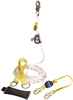 DBI-SALA 5000400 Lad-Saf Mobile Rope Grab Kit with Rope Grab, 3 ft. Lanyard, 50 ft. Rope Lifeline, Counterweight, Tie-off Adpator and Carrying Bag