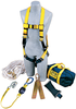 DBI-SALA 2104169 Roofer's Fall Protection Kit - Hinged Anchor