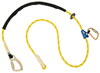 DBI-SALA 1234081 8 ft. Pole Climber's Adjustable Rope Positioning Lanyard