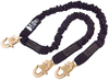 DBI-SALA 1244630 Arc Flash 100% Tie-Off Shock Absorbing Lanyard 6 ft. with Tubular Nomex/Kevlar Webbing and Snap Hooks