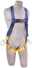 DBI-SALA AB17540 Protecta FIRST Vest-Style Harness with Back/Side D-rings and Pass Through Leg Straps (Size Universal)