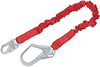 DBI-SALA 1340121 Protecta PRO 6 ft. Stretch Shock Absorbing Lanyard with Snap Hook and Steel Rebar Hook