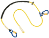 DBI-SALA 1234080 8ft. Pole Climber's Adjustable Rope Positioning Lanyard