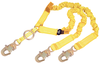 DBI-SALA 1244455 Shockwave 2 100% Tie-Off Rescue Shock Absorbing Lanyard f ft. with D-ring for SRL or Rescue and Snap Hooks