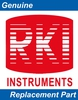 A Pack of 25 RKI 29-0025RK Gas Detector Label, service/cal date, RKI by RKI Instruments