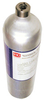 RKI 81-0158RK-02, Calibration Gas Cylinder, H2S 25 ppm / CO 50 ppm / isobutane 50% LEL / O2 12% in N2, 58AL by RKI Industries