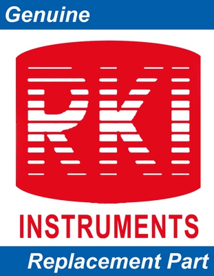 RKI 29-0625RK Gas Detector Label, front panel w/emboss for buttons, 94 series by RKI Instruments