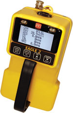 RKI EAGLE 2 724-103-33 Gas Detector for LEL & PPM (Catalytic) / Methane (CH4) 100% volume (TC) / O2 / CO2 (5%) by RKI Instruments