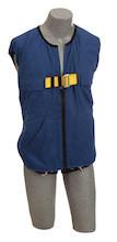 DBI-SALA 1107415 Delta Workvest Harness with Non-reflective workvest harness, back D-ring, tongue buckle leg straps (size Small). by Capital Safety