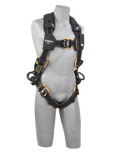 DBI-SALA 1103072 ExoFit NEX? Arc Flash Positioning Harness with PVC coated aluminum back and side D-rings, Nomex?/Kevlar? fiber (Large)