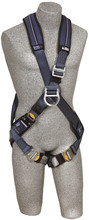 Cap-Saf-1109803 DBI-SALA 1109803 ExoFit? XP Cross-Over Style Climbing Harness with Back and front D-rings,  (size X-Large)