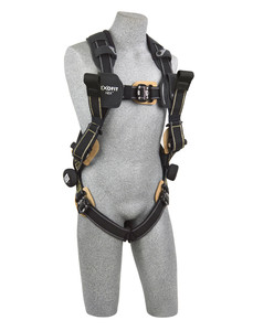DBI-Sala 1113326 Nomex'(r)/Kevlar'(r) fiber web, dorsal web loop & front rescue loops, locking quick connect buckles, comfort padding, med
