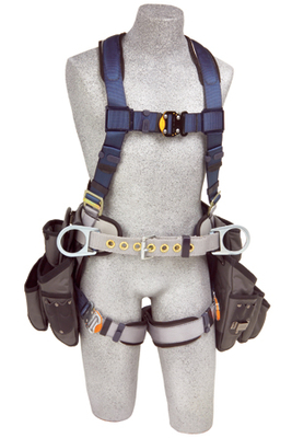 Dbi sala exofit construction style harnesses with tool for Sala safety harness