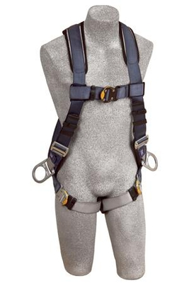 DBI-SALA ExoFit Vest-Style Harnesses Large 1108577 by Capital Safety