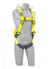 DBI-SALA 1101794 X-Large Delta Vest-Style Retrieval Harness with Back and shoulder D-rings, pass-thru buckle leg straps by Capital Safety