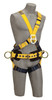 Cap-Saf-1101812 DBI-SALA 1101812 Extra Large Delta Cross-Over Construction Style Climbing Harness with Back, front and side D-rings,