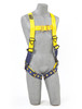 DBI-SALA 1107800 Delta Vest-Style Climbing Harness with Back, front and side D-rings, belt with pad, tongue buckle leg straps (size Large)