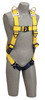 DBI-SALA 1110608 Delta Vest-Style Retrieval Harness with Back and shoulder D-rings, quick connect buckle leg straps (size X-Large). by Capital Safety