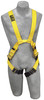 DBI-SALA 1110750 Delta Arc Flash Harness - Dorsal/Front Web Loop with Back and front web loop, no metal above waist (size Medium)