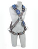 DBI-Sala 1113106 ExoFit NEX? Cross Over Style Harness Aluminum Front, Back & Side d-rings, locking quick connect buckles, Size Small by Capital Safety