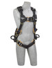 Cap-Saf-1113330 DBI-Sala 1113330 Nomex'(r)/Kevlar'(r) fiber web, PVC coated alumninum front, back & side D-rings, locking quick connect buckles, small
