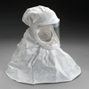 3M White Respirator Hood Respiratory Protection BE-10L-3 (Formerly 522-02-17R03), Large 3/cs