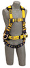 DBI-SALA 1106405 Delta Iron Worker's Harness with Back and side D-rings, belt with adjustable support straps and pad, shoulder pads (size Large)