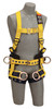 DBI-SALA 1107776 Delta Vest-Style Tower Climbing Harness with Back, front and side D-rings, belt with pad, (size Small)