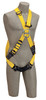 DBI-SALA 1110702 Delta? Cross-Over Style Climbing Harness with Back and front D-rings, quick connect buckle leg straps (size X-Large)